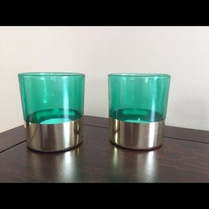 Other - Green candle holder